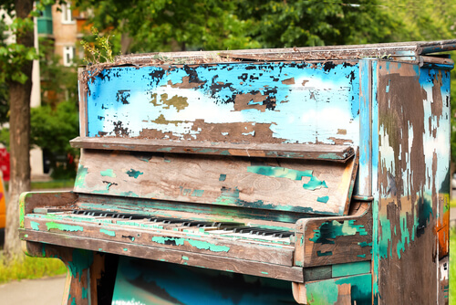 Klavierentsorgung